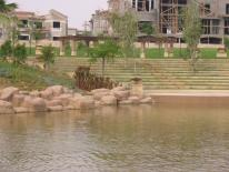 lake view new cairo villa for sale