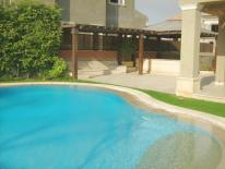 Modern Villa for rent in Lake View Compound New Cairo