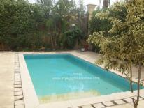 villa for rent compound aljazi