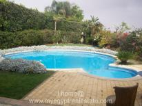 for rent in katameya heights with pool