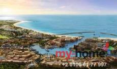 Marassi Marina Residence, Chalet 2 bedrooms for Sale  4 Years Installment Plan