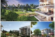 Mountain View Icity October, Apartment With Garden Open View For Sale   ماونتن فيو اي سيتي اكتوبر,شقه بحديقه اوبن فيو للبيع
